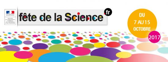 FÊTE DE LA SCIENCE, le samedi 7 octobre