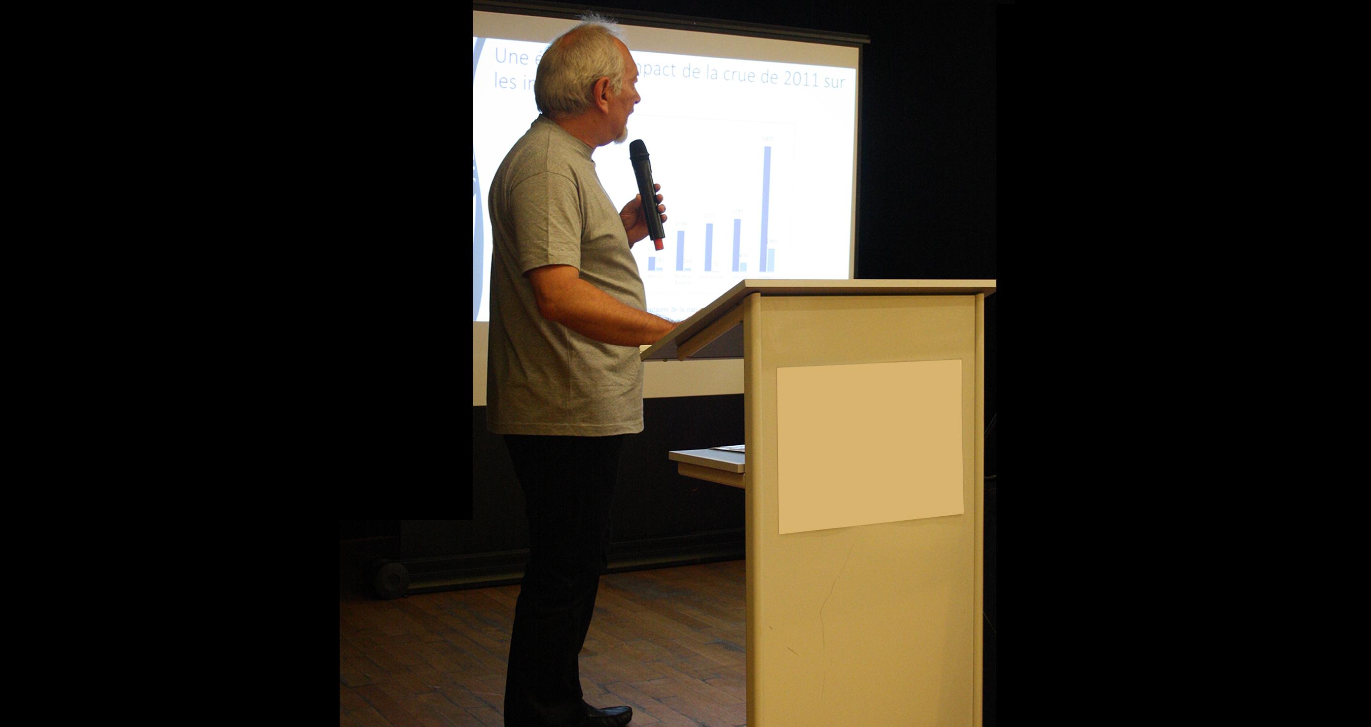 Conférence de Georges Olivari, le 13 octobre 2017