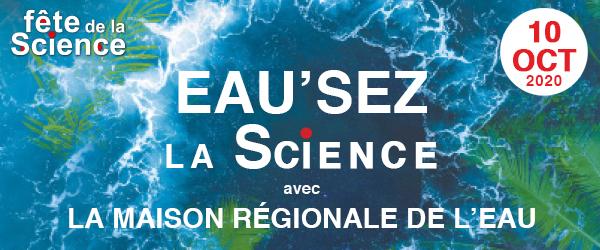 Eau'sez la science avec la MRE – 10 octobre 2020 à Barjols