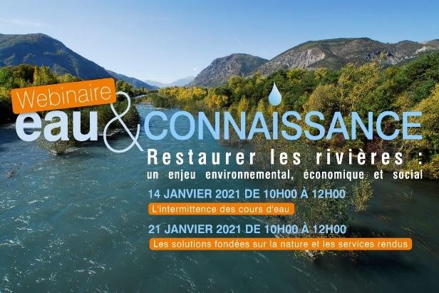 ***Webinaire Agence de l'eau RMC- Jeudi 14 janvier 2021 10h00-12h00/ Jeudi 21 janvier 2021 ***